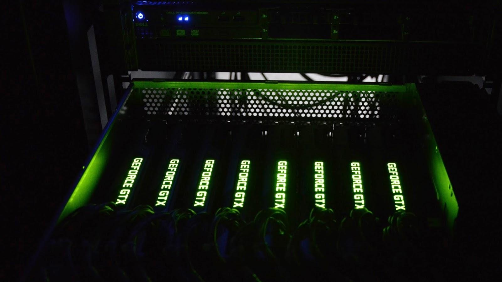 GPU server with GTX 1080Ti